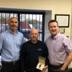 Lee Howard 25 Years Service